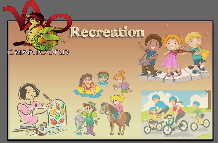 Capricorn Recreation, Good recreational activities for